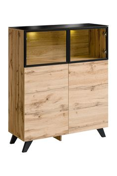 Tampa LSB - Low wall cabinet for your home Cheap Black Dresser, Tall White Dresser, Black Dressers, Small Dresser, Dressers For Sale, Double Dresser, Bedroom Chest Of Drawers, Modern Chest Of Drawers, Modern Dresser