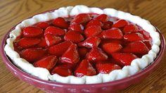 Strawberry Pie Fast and Easy - i've eaten this very recipe and it' makes you wanna smack...your mama!