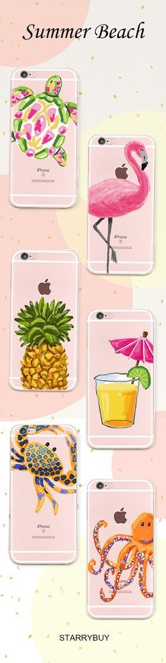 Live it up this summer with our ultimate Summer Collection. Check these gorgeous designs here:https://www.starrybuy.com/collections/clear-phone-case