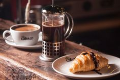 Croissant & Coffee by monednine  IFTTT 500px