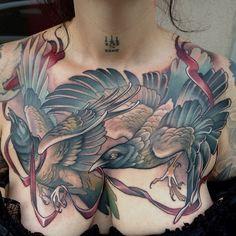 Teresa Sharpe at Studio 13 Tattoo in Fort Wayne IN