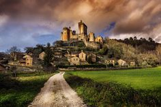 Chateau Bonaguil - The amazing Chateau Bonaguil in south west France. Tony Priestley