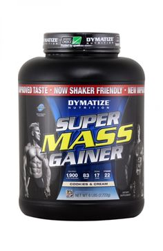 Dymatize Nutrition Super Mass Gainer - Cookies and Cream, 6 Lbs