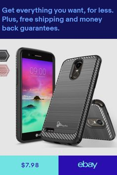 Cases, Covers & Skins Hybrid Shockproof Holster Clip Kickstand Case Cover For Lg Aristo Lv3 V3 Ms210 Clear-Cut Texture Cell Phones & Accessories