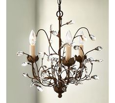 Camilla 3-Arm Chandelier #potterybarn want