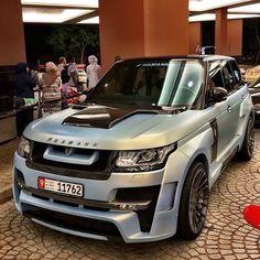 Range Rover Tune By HAMANN.