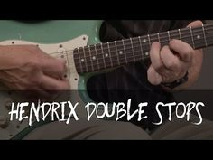 Jimi Hendrix Double Stop Guitar Lesson - YouTube