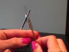 Adding Beads Using A Crochet Hook - YouTube