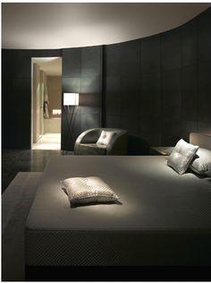 Minimalism . The luxury Armani Hotel Dubai