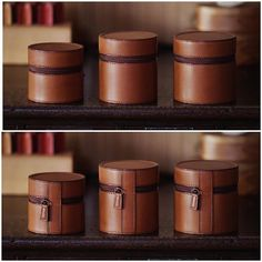 bespoke | lens cases . . #bespoke #leatherwork #leathercraft #lenscase #leicalens #elmarit28 #summicron35 #summilux50 #cameraaccessories #vacchetta #vacchetta_leather #niwaleathers #革小物 #オーダーメイド