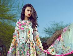 Asifa Nabeel Lawn Collection 2017 | PK Vogue