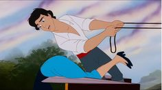 The many faces of Prince Eric. The Little Mermaid, sassy Prince Eric. This is why we can't go nice places.