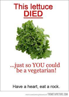BAHAHAHA! I'm so sorry my dear vegetarian friends! I really do love you dearly!!