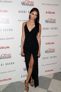 """Shanina Shaik Photos: The Cinema Society & Bobbi Brown With InStyle Host A Screening Of """"The Other Woman"""""""