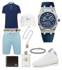 """Casual"" by pitbull8382 on Polyvore featuring Ted Baker, Gucci, adidas, Giorgio Armani, Audemars Piguet, David Yurman and Marco Ta Moko"