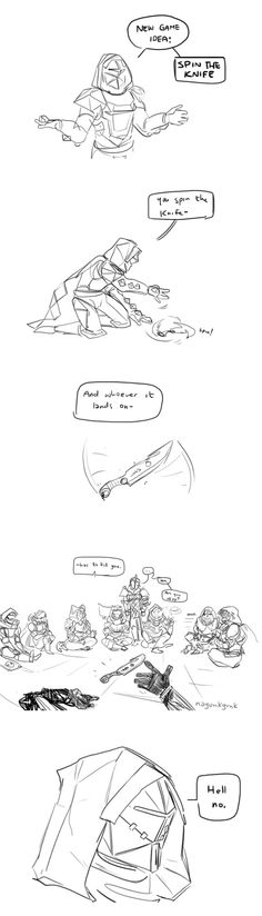 """Hunters are the least okay Guardians"" by @Nagunkgunk"