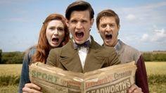 Amy Pond And Rory Williams | funny karen gillan amy pond eleventh doctor doctor who rory williams ...