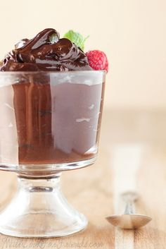 Avocado Chocolate Mousse - The Cure To What Ails You (FAK Friday) - Will Cook For Friends