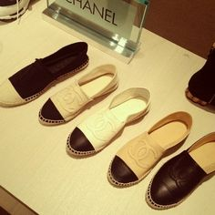 ideas for fashion shoes flats chanel espadrilles Espadrille Chanel, Chanel Flats, Coco Chanel, Chanel Espadrilles Outfit, Designer Espadrilles, How To Have Style, Fashion Shoes, Fashion Accessories, Chanel Fashion