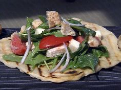 ... Chicken and Spinach Salad from FoodNetwork.com by Michael Chiarello