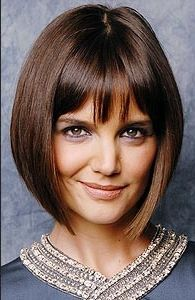 Wonderful Photographs Hairstyles: Celebrity Concave Bob Hairstyles Style Who created the Bob hairstyle? Bob has been leading the league of development hairstyles for decades Short Hair Cuts For Women, Short Hairstyles For Women, Hairstyles With Bangs, Short Hair Styles, Bangs Hairstyle, Celebrity Hairstyles, Cool Hairstyles, Katie Holmes, Concave Bob Hairstyles