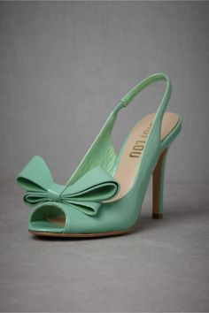 Dimensionality Peep-Toes in SHOP Shoes  Accessories Shoes at BHLDN