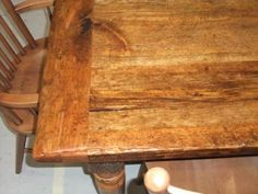 I'd love a barn board table to accomodate our family and guests!