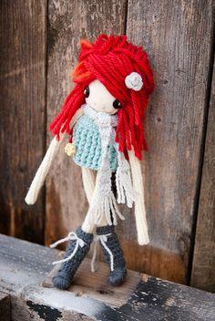 Red haired crochet girl