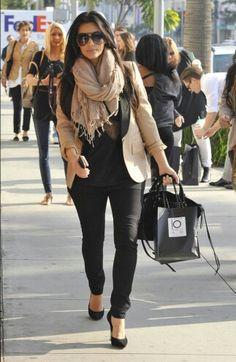 Kim Kardashian - I hate how much I love her style