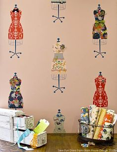 Sewing Room Design, Sewing Room Decor, Sewing Spaces, Sewing Room Organization, My Sewing Room, Sewing Room Storage, Bike Garage, Sewing Crafts, Sewing Projects