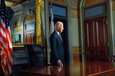 The vice president looks back — and forward.