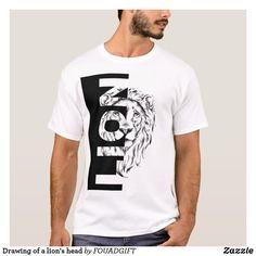 Beard Designs, Shirt Designs, Cool Shirts, Funny Shirts, Lion Clipart, Lion Shirt, Band Shirts, T Shirts With Sayings, Lions
