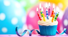 Buy Colorful birthday cupcake by RuthBlack on PhotoDune. Cupcake decorated with colorful birthday candles Freebies On Your Birthday, Free On Your Birthday, Birthday Freebies Restaurants, Birthday Celebration, Birthday Wishes, Birthday Parties, 33rd Birthday, Birthday Bash, Happy Birthday Pictures Free