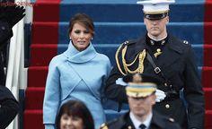 Melania Trump Evokes Jackie Kennedy in Ralph Lauren Ensemble