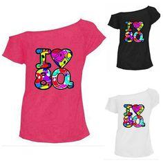 f2b654b96 (Sponsored)eBay - Ladies Multi I Love the 80s Fancy Dress Women's Hen Party