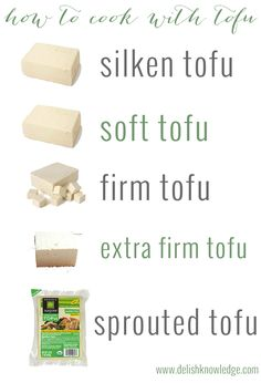 How to cook with tofu, a delicious primer! Tips, techniques and recipes using silken, baked, firm, extra-firm and sprouted tofu.