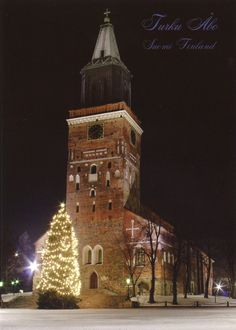 Turku Cathedral in Finland.