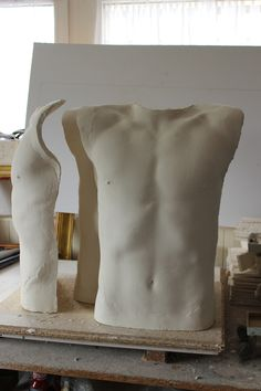 New sculpture #body #torso #sculpture #porcelain