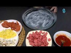 """""""Hazır Ekmek Hamurundan Pizza""""  Mutfak Günlüğü Videolu Tarif Hotels, Pizza, Pudding, Search, Desserts, Youtube, Image, Food, Tailgate Desserts"""