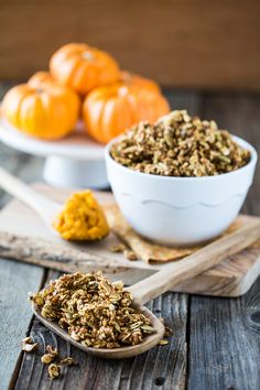 Pumpkin Spice Granola | Keepin' It Kind #vegan #granola #pumpkin