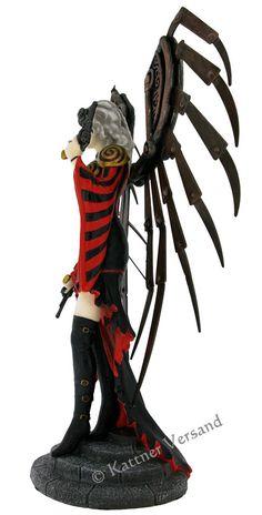 Anne Stokes Figur – The Avenger Anne Stokes, Shops, Samurai, Avengers, Gothic, Darth Vader, Fantasy, Fictional Characters, Goth