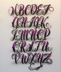 Graffiti Alphabet : Sketch 3D Graffiti Alphabet Letter Font A To Z ...
