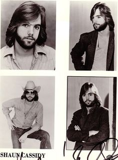 shaun cassidy's facial follicles - I had a major crush on SC when I was 12-13 and then he got married and I moved one with my first boyfriend, but when I saw him with the beard, I found myself thinking he was hot all over again!  lol
