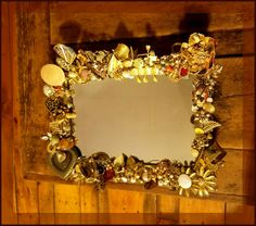 Check out this item in my Etsy shop https://www.etsy.com/listing/485248954/golden-reflection-hanging-mirrortray
