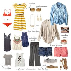 What to pack for South East Asia via Vivagood