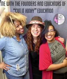 I am SO HAPPY  I was able to attend this amazing educational event with these two fantastic women. They gave their everything to educate and empower us curly hair artists so we can know what's possible with working with highly textured and coily hair. I am obsessed with helping the naturally curly hair community. Be sure to check out my You Tube Chanel and helpful blogs on my website. - Carleen Sanchez  Nevada's Curly Hair and Color Expert 775.721.2969