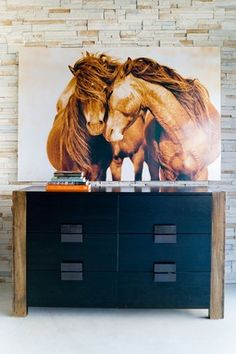 Wild horse art. It costs more than my car.