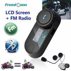 Cheap interphone headset, Buy Quality helmet intercom directly from China headset helmet Suppliers: New Updated Version! Motorcycle Motorbike BT Bluetooth Multi Interphone Headset Helmet Intercom T-COM LCD Screen FM Radio Motorbike Accessories, Intercom, Charger Adapter, Cool Things To Buy, Stuff To Buy, Hats For Women, Bluetooth, Motorbikes, Headset
