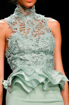 tinaschoices: Ermanno Scervino at Milan Fashion Week Spring 2012