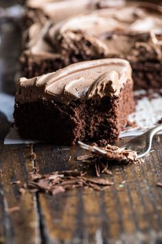 One Bowl Chocolate Sheet Cake with Milk Chocolate Fudge Frosting